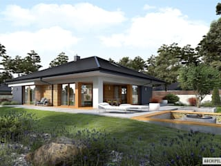 Detached home by Pracownia Projektowa ARCHIPELAG