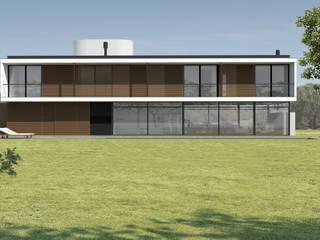 Casa MK:   por Eduardo Piovesan / Arquitetura,Moderno
