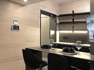 33.9_Sqm Flat: Cucina in stile  di Fabio Barilari Architetti
