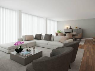 Sala Familiar:   por 411 - Design e Arquitectura de Interiores