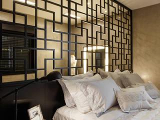 Residência e interiores  TDC- ÁREA 420m²: Quartos  por Etni Arquitetura,Minimalista