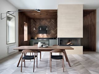 Livings de estilo  por INT2architecture