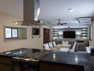 Nhà bếp phong cách hiện đại bởi Parametrica Hiện đại