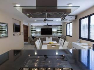 Столовая комната в стиле модерн от Parametrica Модерн