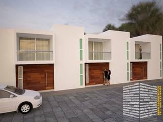 Rumah oleh HHRG ARQUITECTOS, Modern