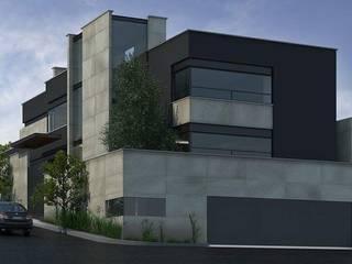 Proyecto LDV: Casas unifamiliares de estilo  por MS ARQUITECTOS