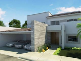 Proyecto CSA: Casas unifamiliares de estilo  por MS ARQUITECTOS
