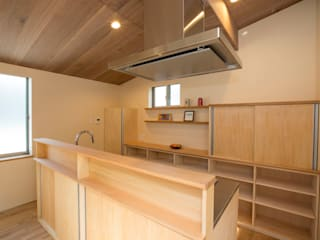 Tủ bếp theo 光風舎1級建築士事務所,