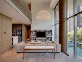 Lim Ai Tiong (LATO) Architects Modern living room
