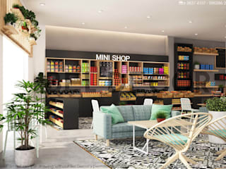 🍁 Coffee Shop & Mini Stop 🍀 Bel Decor bởi Bel Decor