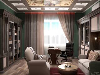 Klassische Arbeitszimmer von Студия интерьерного дизайна happy.design Klassisch