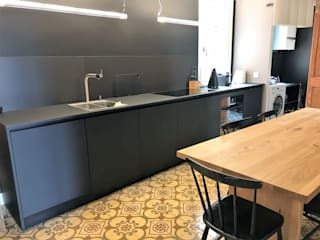 2PRN - Mon Projet Cuisine Dapur Minimalis Black