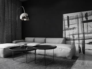 Salon minimaliste par Spacja Studio Minimaliste