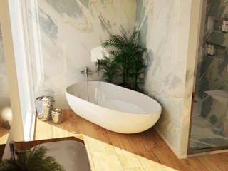 Smile Bath S.A. Baños de estilo moderno Blanco