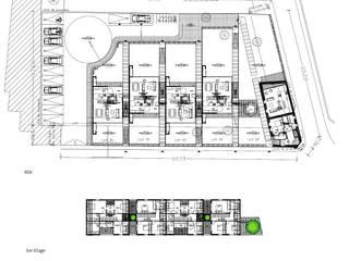 EC-Bois | Multi Home Experience | Les Alluets-le-Roi:  de style  par EC-BOIS