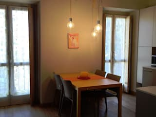 Interior Design ARCHITAG studio Architettura Torino Sala da pranzo moderna