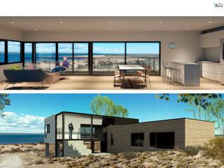 PROYECTOS REALIZADOS EN CHOCÓN MEDIO:  de estilo  por BDB Arquitectura