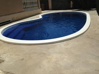 Realizacion piscina Chalet de Arquitecta interiores Ana Serrano