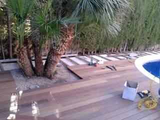 jardin:  de estilo  de Arquitecta interiores Ana Serrano