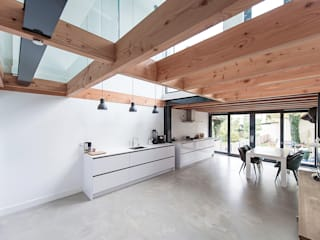 Bloot Architecture Modern kitchen Concrete
