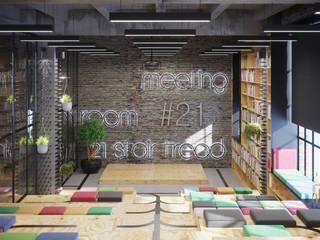 Artichok Design Offices & stores Grey