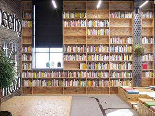 Artichok Design Offices & stores Wood Brown