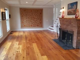 Salon rustique par Shine Star Flooring Rustique