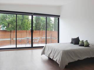 Dormitorios de estilo minimalista de Molcajete Arquitectura Interiores Diseño Minimalista