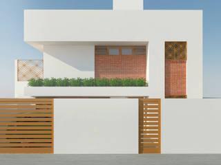 CASA BRA por Livin Arquitetos Minimalista