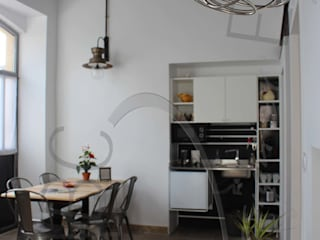 Industrial style dining room by ABC Design d'Espace Industrial