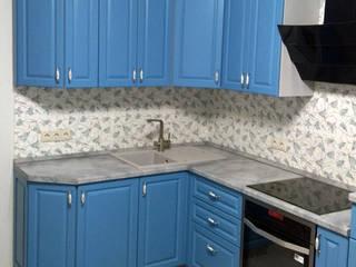 Голубая кухня. Кухнивиза. от Кухнивиза Классический