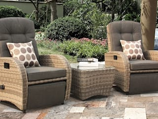 Rattan bistro set for indoors:   by Garden Centre Shopping UK