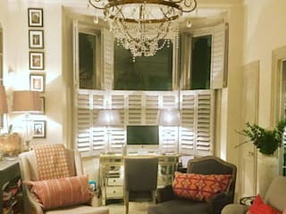 A Beautiful Result Just Off Wandsworth Common Plantation Shutters Ltd Living roomAccessories & decoration Kayu White