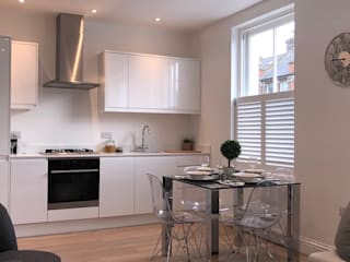 A Huge Project on East Hill Plantation Shutters Ltd KitchenAccessories & textiles Kayu White