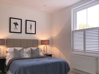 A Huge Project on East Hill Plantation Shutters Ltd BedroomAccessories & decoration Kayu White