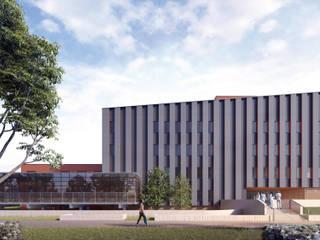Modern hospitals by PL+sp. z o.o. Modern