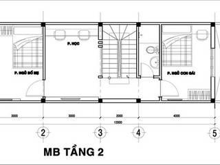 Casas estilo moderno: ideas, arquitectura e imágenes de Công ty TNHH Xây Dựng TM – DV Song Phát Moderno