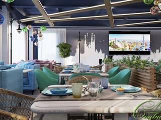 Salle à manger originale par Компания архитекторов Латышевых 'Мечты сбываются' Éclectique