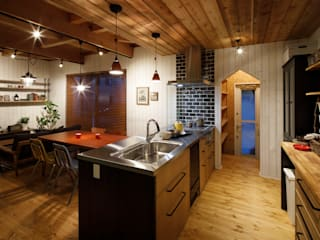 Kitchen by dwarf, Rustic