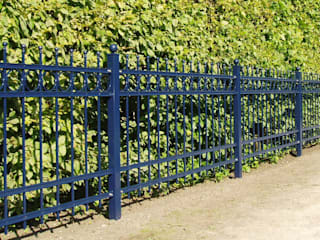 Nordzaun Front yard Iron/Steel Blue