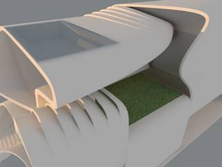 Bungalows de estilo  por Play Architecture, Moderno