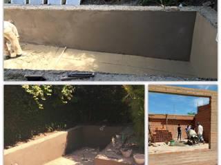 Diseño y construcción de pileta de M2 Arquitectura Moderno