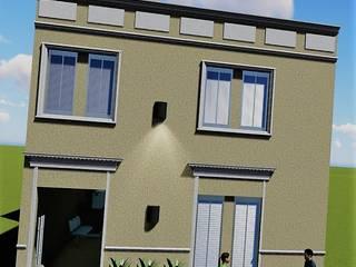 Rehabilitacion de fachada Casas clásicas de M2 Arquitectura Clásico