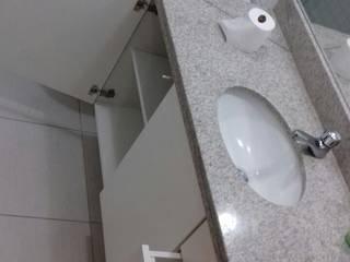Banheiros Mack Móveis BanheiroArmários MDF Branco