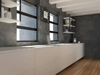 VillaTreviso Cucina moderna di 2mgdesignsolution Moderno