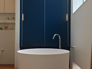 Complete Design & Installation of a new Bathroom Barnsbury Joinery Co BathroomStorage