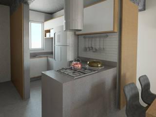 Módulos de cocina de estilo  de ARAMADO arquitetura+interiores, Industrial