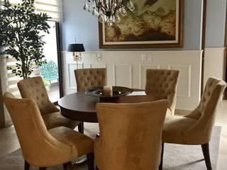 Classic style dining room by MIRIAM ESCOBEDO INTERIORISTA Classic