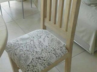 Solid ash dining room/patio chair:   by MELLOWOOD Furniture