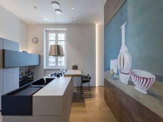Cocinas de estilo moderno de Studio 4e Moderno